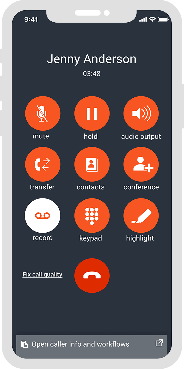Spoke Phone System Features