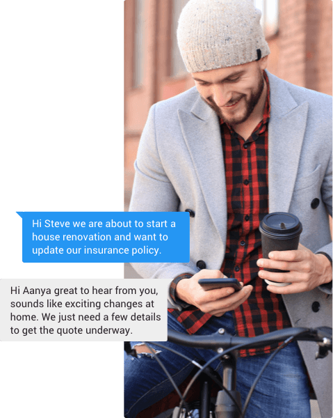 Secure business texting