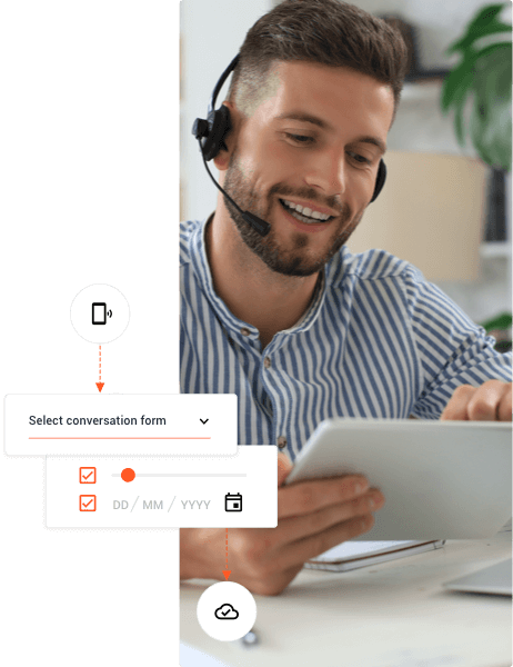 Customized customer journeys