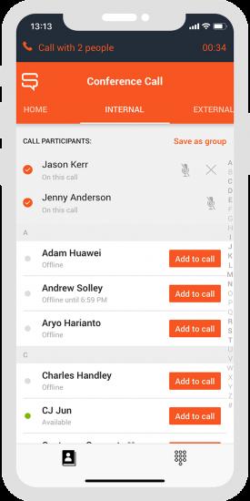 Spoke Phone Conference Calls