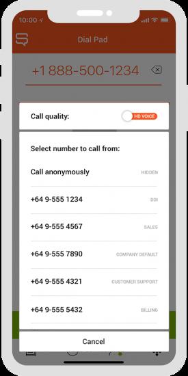 Spoke Phone Caller ID